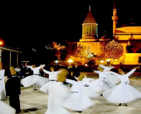 Derviches in Konya